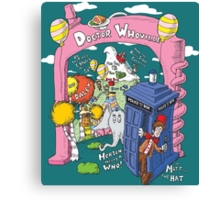 Doctor Whoville Canvas Print