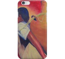 Woman carrying water iPhone Case/Skin