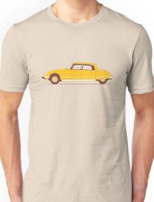 Yellow Ride of the Retro Future Unisex T-Shirt
