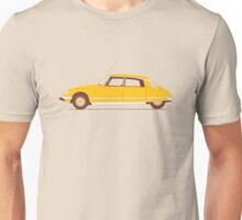 Yellow Ride of the Retro Future Unisex T-Shirt