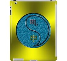 Scorpio & Monkey Yang Water iPad Case/Skin