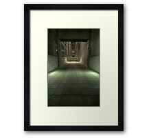 Ariel Tetsuo was here Framed Print
