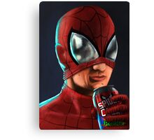 Spiderman - Spidey Cola Canvas Print