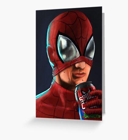 Spiderman - Spidey Cola Greeting Card
