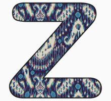 Letter Series - z (ikat) Kids Clothes