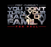 fast and furious- for paul by makoy