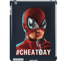 Spiderman - #CHEATDAY iPad Case/Skin
