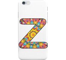 Letter Series - z (kaleidoscope) iPhone Case/Skin