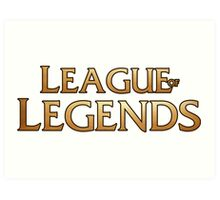 League of legends inspired design Art Print