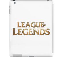 League of legends inspired design iPad Case/Skin