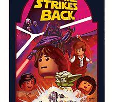 The Empire stikes Lego by paulabstruse