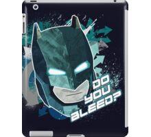 Batman vs Superman : Do you bleed? iPad Case/Skin