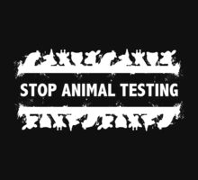 Stop Animal Testing Kids Clothes