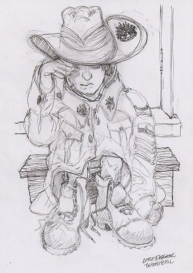 Little Digger by Ken Tregoning