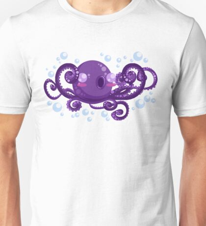 A is for Octopus Unisex T-Shirt