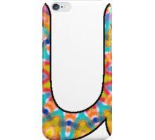 Letter Series - u (kaleidoscope) iPhone Case/Skin