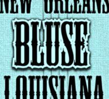New Orleans Banjo Blues Sticker