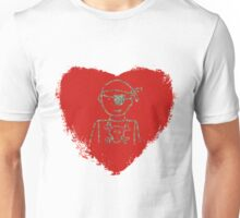 pirate of my heart Unisex T-Shirt