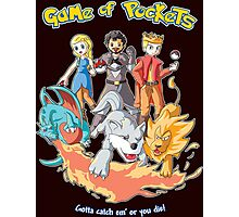 Game of Pockets Photographic Print