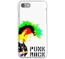 Punk Rock Mohawk iPhone Case/Skin
