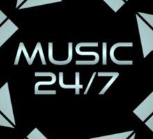 Metal Music 24/7  Sticker