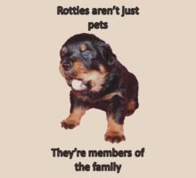 Rottweilers Are Family by taiche