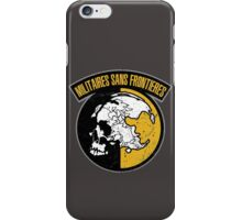 MGS - MSF Logo iPhone Case/Skin