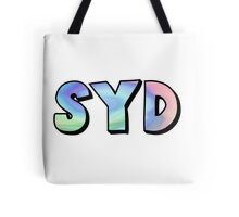 Custom Name Holographic Sticker (Available With any Name by Request) Tote Bag