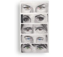 Once Upon A Time Eyes Canvas Print