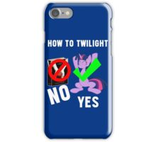 How Do I Twilight? iPhone Case/Skin