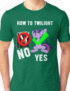 How Do I Twilight? Unisex T-Shirt