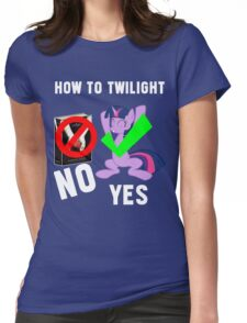 How Do I Twilight? Womens Fitted T-Shirt