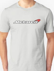 Mclaren Supercar Logo White T-Shirt