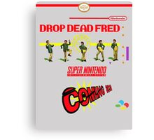"Drop Dead Fred ""16 Bit"" Canvas Print"