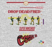 "Drop Dead Fred ""16 Bit"" Kids Clothes"