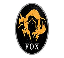 MGS - FOX Logo by steviecomyn