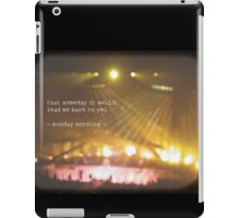 MAROON MUSIC - Sunday Morning iPad Case/Skin