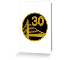 Stephen Curry Unique Greeting Card