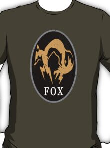MGS - FOX Logo T-Shirt