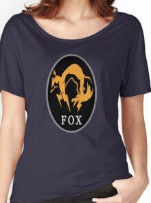 MGS - FOX Logo Women's Relaxed Fit T-Shirt