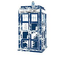 Splatter the TARDIS by JonBird