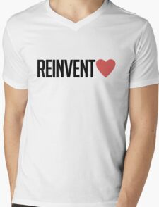 reinvent love Mens V-Neck T-Shirt