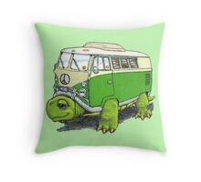 Turtle Bug Throw Pillow