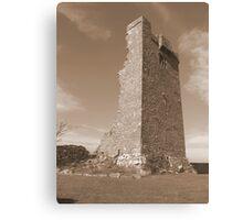County Clare castle ruins Canvas Print