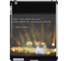 MAROON MUSIC - Lost Stars iPad Case/Skin