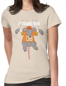 #TEAMCHAD Womens Fitted T-Shirt