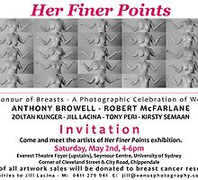 Her Finer Points exhibition by VenusPhotoJill