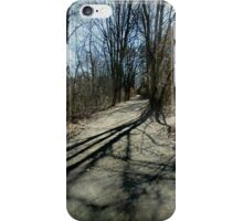 Shadows On The Bridle Path iPhone Case/Skin
