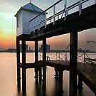 Portsmouth Pier by Drew Walker
