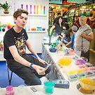 Vendor Fremantle Markets by Andrew  Makowiecki
